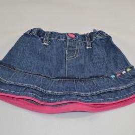 Denim skirt 0-3 months