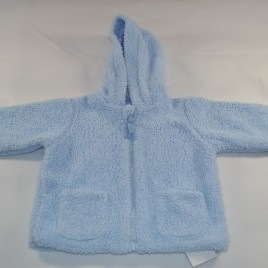 reversible blue fleece jacket 6-9 months