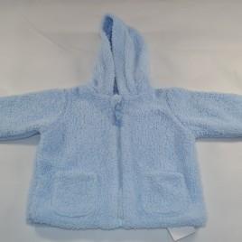 reversible blue fleece jacket 6-9 months