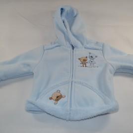 Mini Mode Blue Hooded Jacket 9-12 months