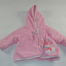 Daisy Duck pink newborn reversible jacket