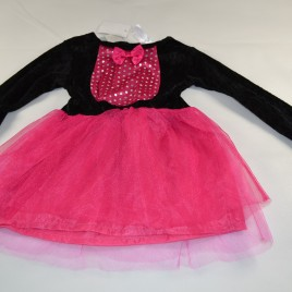 New black & pink dress up 1-2 years