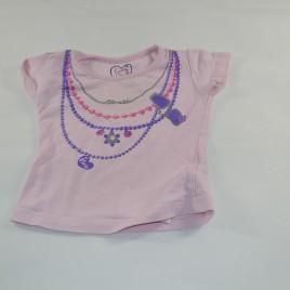 Pink t-shirt 9-12 months