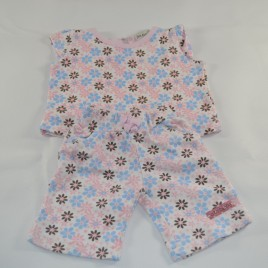 Newborn Flowered top & leggings outfit