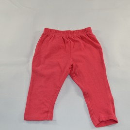 Pink leggings 3-6 months