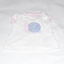 Mothercare newborn snail t-shirt