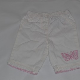 Newborn white trousers