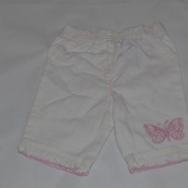 Newborn white trousers