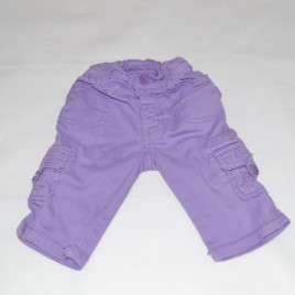 Purple Pumpkin Patch trousers 3-6 months