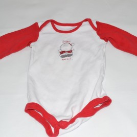 'I believe don't you' long sleeve Christmas bodysuit 6-9 months