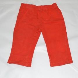 Red leggings 3-6 months