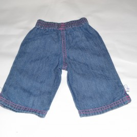 0-3 months jeans  with white bows