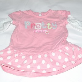 'Pretty as can be' newborn dress