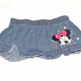 Minnie Mouse denim skirt 3-6 months