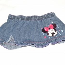 Minnie Mouse denim skirt 3-6 months