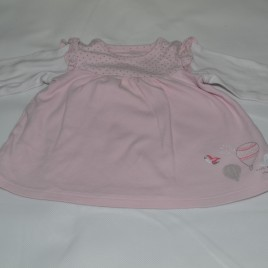 0-3 months pink M&S top