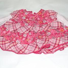 Dark pink dress 0-3 months