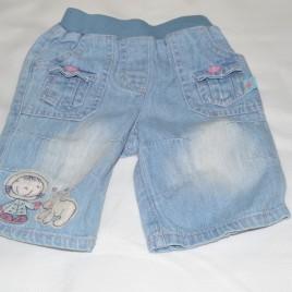 Newborn jeans with Eskimo picture
