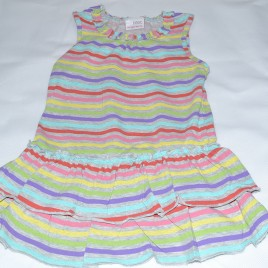 Next stripy dress 12-18 months