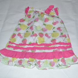 Dizzy Daisy fruits dress 12-18 months
