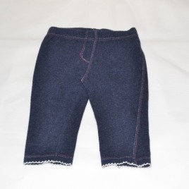 3-6 months navy leggings