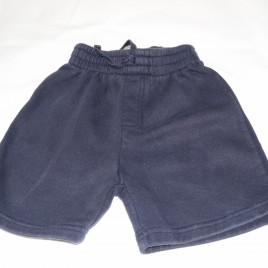 Navy blue school PE shorts 3 years