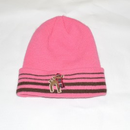 Pink deer winter hat 3-5 years