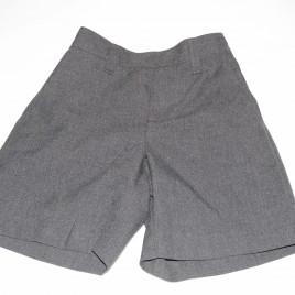 Grey school shorts 4 years M&S