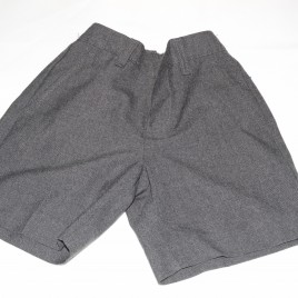 Grey school shorts 4 years M&S