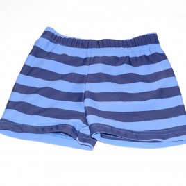 Blue & navy stripy swimming trunks 4-5 years