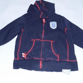 England hoodie 2-3 years