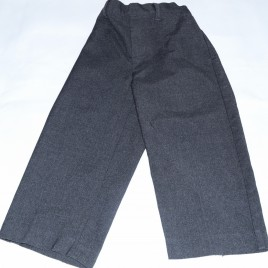 Grey school trousers 3 years