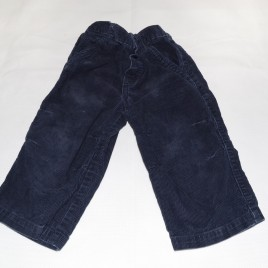 Navy cord trousers 18-24 months