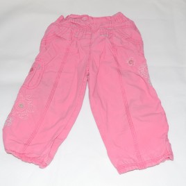 M&S pink trousers 12-18 months