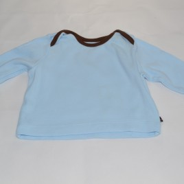 Blue newborn top