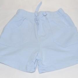 Blue shorts 3-6 months