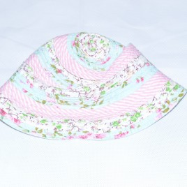 Flowers sun hat 2-3 years