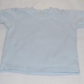 Blue t-shirt 0-3 months