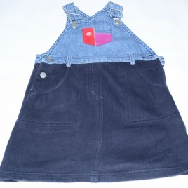 Next denim pinafore 2 years