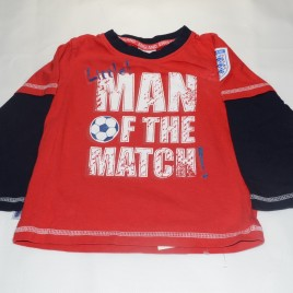 'Man of the match'  Football top 18-24 months