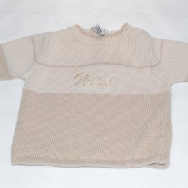 Next brown jumper 0-3 months