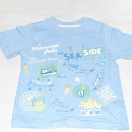 Seaside t-shirt 18-24 months