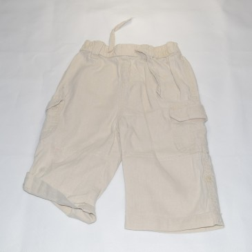 Stone rolled up leg trousers 6-9 months