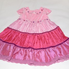 Pink and Purple Dress 3-6 months