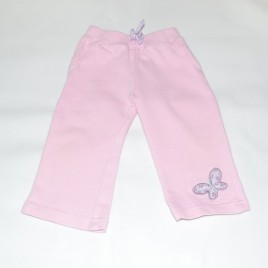 Pink jogging trousers 6-9 months
