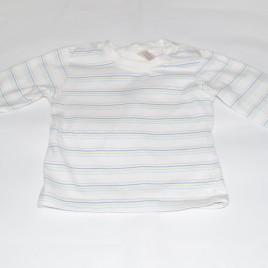 Cream stripy top 3-6 months