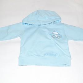 Aqua car hoodie 6-9 months