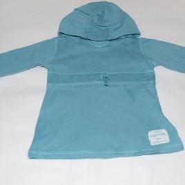 Next aqua blue hoodie 6-9 months