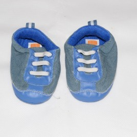 Slip on blue shoes 6-9 months Mini-Mode