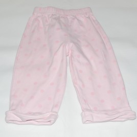 M & Co Pink Spotty Trousers 6-9 months
